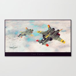 Skylark Mrk2 - Top Cover Canvas Print