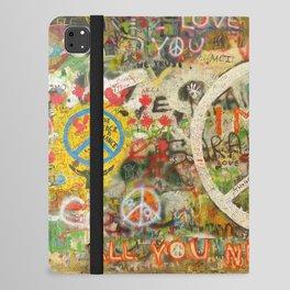 Peace Sign - Love - Graffiti iPad Folio Case