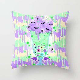 Witchy Brew Throw Pillow