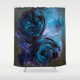 The Modern Rose Bunch Shower Curtain