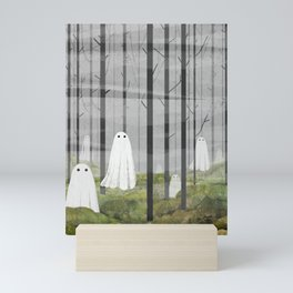 The Woods are full of Ghosts Mini Art Print