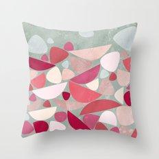 Sea Bed Throw Pillow