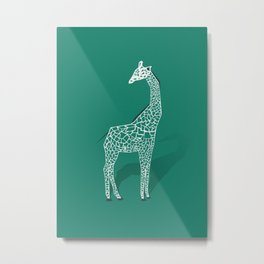 Animal Kingdom: Giraffe III Metal Print