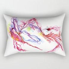 Galactic Blush Rectangular Pillow