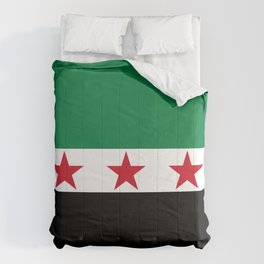 Independence flag of Syria Comforters