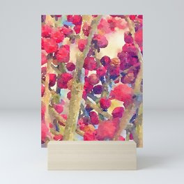 Pepper berries Mini Art Print