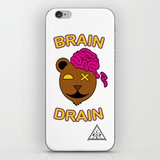 Brain Drain  iPhone & iPod Skin