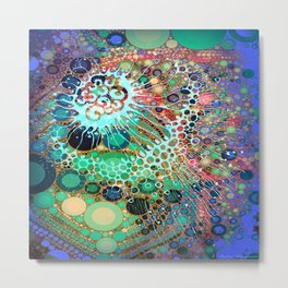 Jellyfish Metal Print