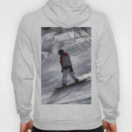 "Snowboarder ""just cruisin'"" Winter Sports Gift Hoody"