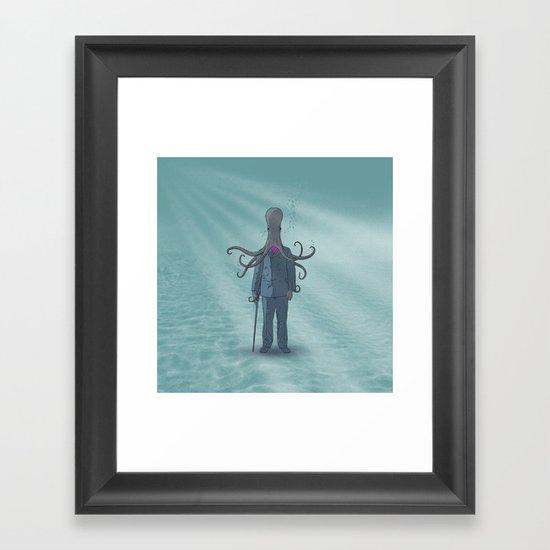 Beyond the Sea Framed Art Print