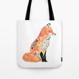 Red Fox 'Castle Sanssouci' Tote Bag