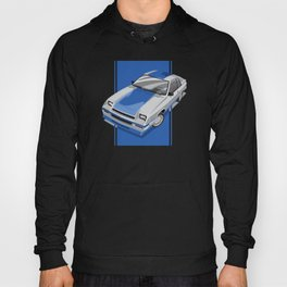 1983 L-Body Charger Silver Hoody