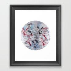 strmtrpr grl on vnyl Framed Art Print
