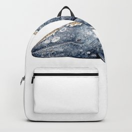 Grey whale Backpack