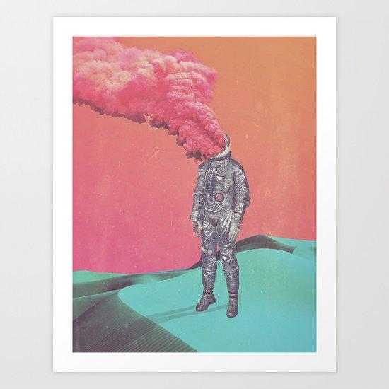 6 tabs Art Print