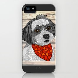 Max the Havanese iPhone Case