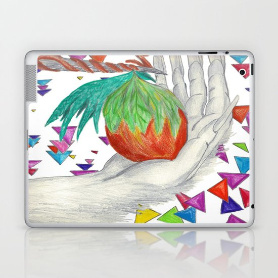 Alien Fruit Laptop & iPad Skin