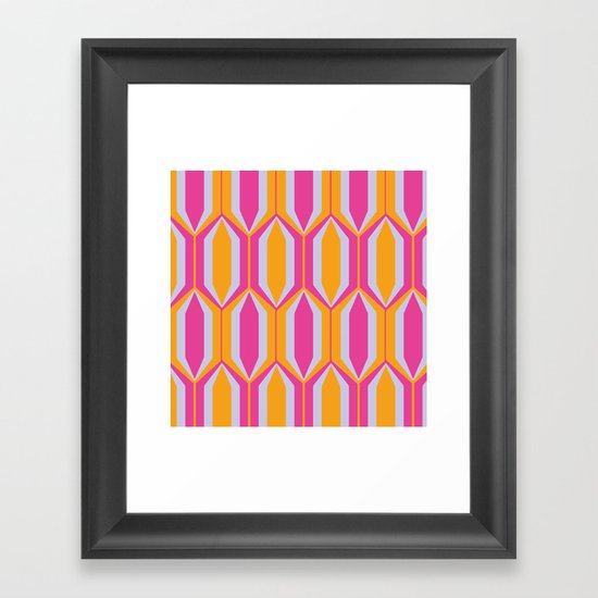 modcushion 2 Framed Art Print