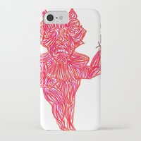 devil iPhone & iPod Cases featuring Devil by Guice Mann