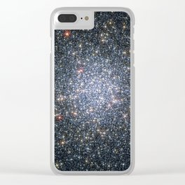 Globular cluster 47 Tucanae,  NGC 104  in the constellation Tucana Clear iPhone Case