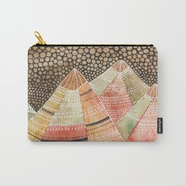 Pattern in the mountains Carry-All Pouch