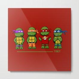 Turtle Theory Metal Print