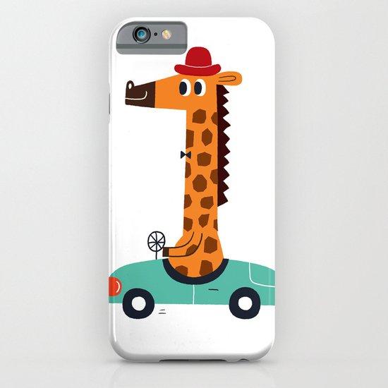 giraffe driver iPhone & iPod Case
