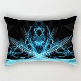 Witch of the Waters - Abstract Art Rectangular Pillow