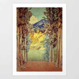 Returning to Hoyi Art Print