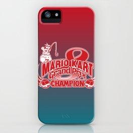 Mario Kart 8 Champion iPhone Case