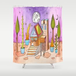 Dream House 1 Shower Curtain