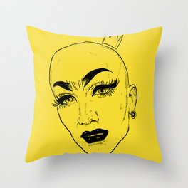 SASHA VELOUR Throw Pillow