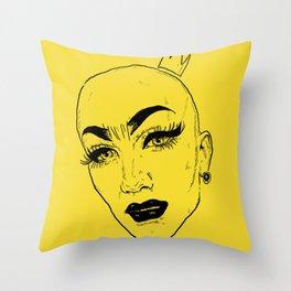SASHA VELOUR Throw Pillow