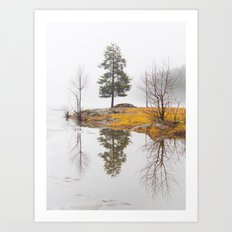The Thaw Norway Art Print