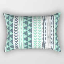 Winter Stripe Rectangular Pillow