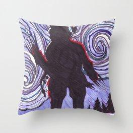 Santa Clawz Throw Pillow