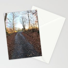 Forest in the Fall Stationery Cards