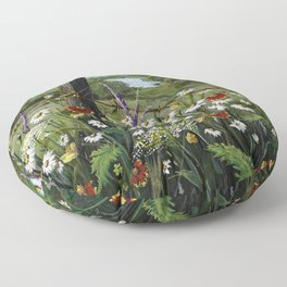 Wild Daisies Floor Pillow