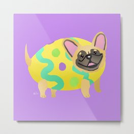 Easter Dog Metal Print