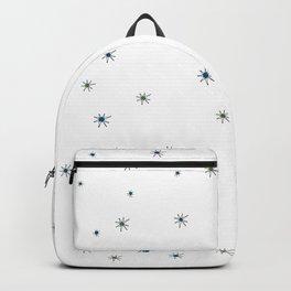 Franciscan Starburst, blue Backpack