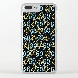 GG X Stars Clear iPhone Case