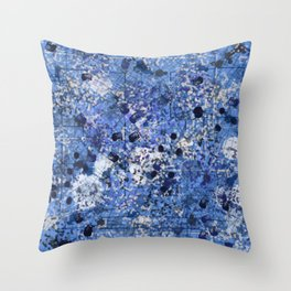 Blue Jeans in Hell Throw Pillow
