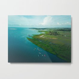 Sea Kayak Metal Print