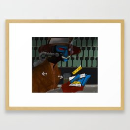 As Long As I Get Paid Framed Art Print