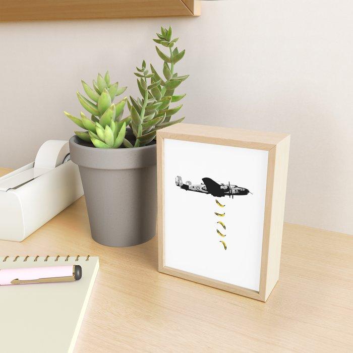 Banana Underground Framed Mini Art Print