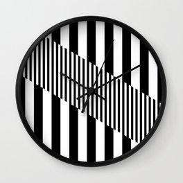 Mod Slash Wall Clock