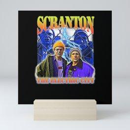 Scranton The Electric City Mini Art Print
