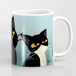 Three cats Coffee Mug