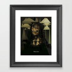 Monalisa Framed Art Print
