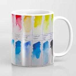 Watercolor Swatches Coffee Mug